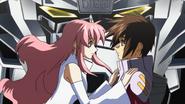 Lacus Give Kira the Freedom 02 (Seed HD Ep34)