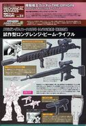 Mobile Suit Gundam The Origin Mechanical Archive Vol. 24 A