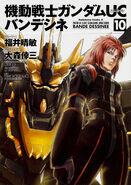 Mobile Suit Gundam Unicorn - Bande Dessinee Vol.10