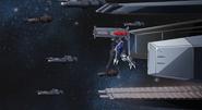 Agamemnon Refit Catapult 01 (Seed Destiny HD Ep9)