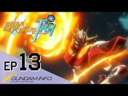 GUNDAM BUILD FIGHTERS TRY-Episode 13- Beyond The Knuckle (ENG dub)