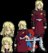 Gundam info Character Sheet Rey Za Burrel