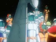Mobile Suit Gundam Journey to Jaburo PS2 Cutscene 103 White Base Crew 2