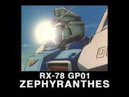 025 RX 78GP01 Gundam GP01 from Mobile Suit Gundam 0083 DVD