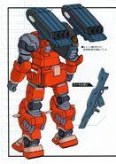 RX-77AQ Guncannon Aqua Manga part B