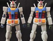 RobotDamashii Rx-78-2 FirstTouch2500 verANIME p02 Sample vs R-192