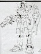 GN-000 0 Gundam - with Beam Gun and Gundam Shield