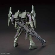 GNX-611T-G Striker GN-X (Gunpla) (Rear)