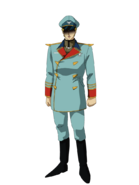 G Gen Genesis Custom Character (Male Neo Zeon Officer)