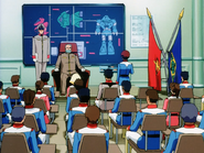 Mobile Suit Gundam Journey to Jaburo PS2 Cutscene 046 General Revil