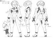 Vagan Spacesuit Sketch