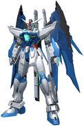 Gundam Areus in-game model