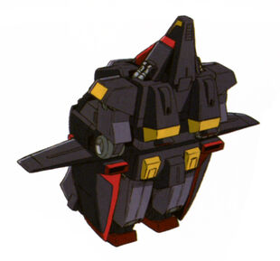 Mobile Fortress Mode (Rear)