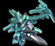 SD Gundam G Generation Cross Rays AEU Enact Demonstration Color
