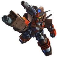 SD Gundam G Generation Genesis Heavy Gundam