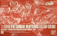 HGAC Gundam Heavyarms -Clear Color-