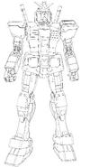 RX-78-2 Gundam Ver.GFT Lineart