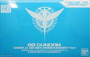 HG 00 Gundam 10th anniversary