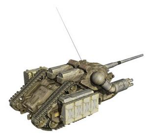 Rear (Assault Gun Mode)