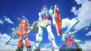 RX-77-2-Guncannon RX-78-2-Gundam RX-75-4-Guntank GBFT-6