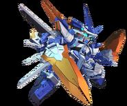 SD Gundam G Generation Cross Rays Gundam Astray Blue Frame D
