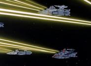 Aoyagi-Class & Bartok-Class in Combat 01 (AWG-X Ep38)