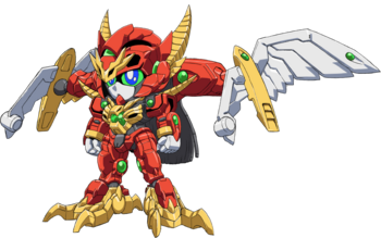 Dragon Fusion Mode (Front)
