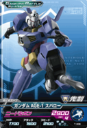 Gundam AGE-1 Spallow GB Try Age