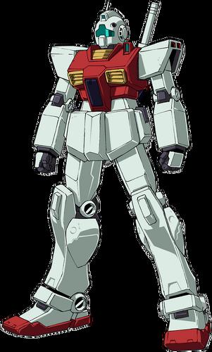 Front (EFF Colors/Unicorn OVA Version)