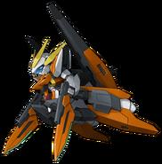 Super Robot Wars Z3 Tengoku Hen Mecha Sprite GN-011 Gundam Harute FM