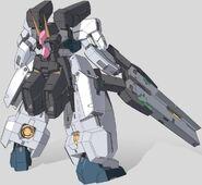 GN-008 Seravee Gundam Rear