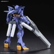 Impulse Gundam Ark (Gunpla) (Rear)