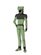G Gen Cross Rays Custom Character (Male ZAFT Green Pilot)