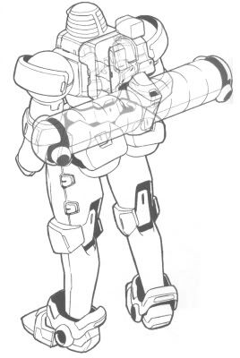 Rear (w/ Space Backpack)