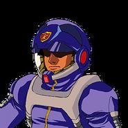 Crossbone Pilot A (G Gen Wars)