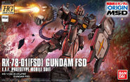 HG Gundam FSD