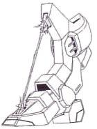 MR-Q15A Griffon leg beam blade
