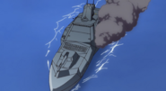 Des Moines-Class in Combat 01 (Seed Destiny Ep12)