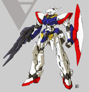 Turn A Gundam Redesign by Takayuki Nanase