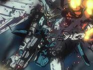 EW Wing Zero arm destroyed