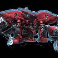 Gundam Diorama Front 3rd AMA-X7 Shamblo