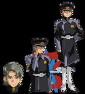 Gundam info Character Sheet Arthur Trine