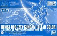 HGUC Zeta Gundam (Evolution Clear Color Ver.)