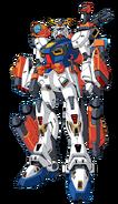 F90M Gundam F90 Marine Type Front