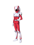 G Gen Cross Rays Custom Character (Female Orb Pilot)