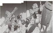 Dom Test Type vs Gundam