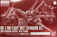 MG Flight Unit Expansion Set for Gundam Astray Red Frame