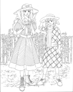 Turn A Gundam Novel Hagio Moto Kihel and Sochie Heim