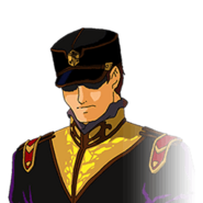 Crossbone Officer (G Gen Wars)