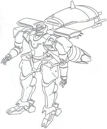 Front (w/ Long-Range Backpack II)